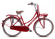 VOGUE ELITE 28 inch red rood LADY 57 3 versnellingen